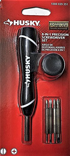 Husky Phillips Slotted Precision Screwdriver