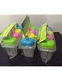 CheckOut 12 Plastic Ice-pop Molds with Sip Spout (3) dispense
