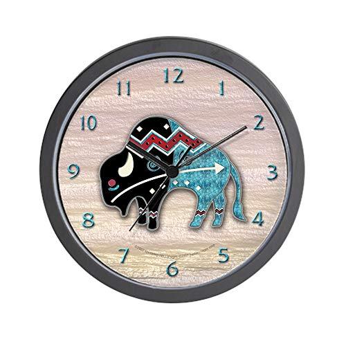 Buffalo Clock - CafePress Great Bison #2 Unique Decorative 10