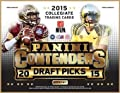 2015 Panini Contenders Draft Picks Football Hobby Box (24 packs/box, 6 cards/pack, 5 Autos per box from 2015 NFL Rookie Class. NFL stars in their college uniforms). In Stock!!