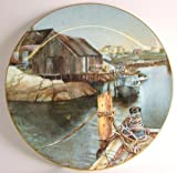 Royal Doulton Peggys Cove Aged in Wood by Peggy Brisby LE of 5000 CP77