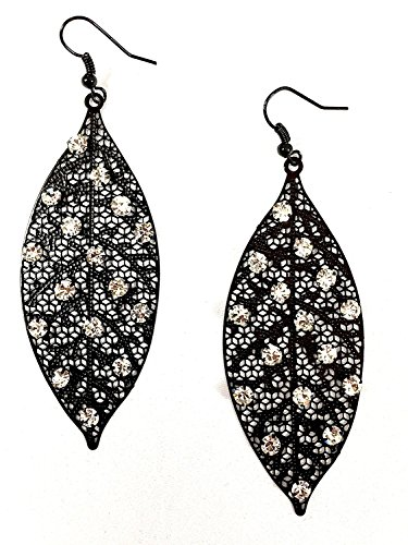 Fashion Bohemian Filigree Diamonds Earrings product image