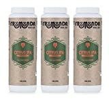 Fromonda Citrus IPA Talc Free Body Powder - All Natural Dry Deodorant Made With Citrus & Hops Essential Oils For Men or Women - Vegan & Cruelty Free - Pack of 3-5 OZ Bottles