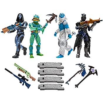 Amazon.com: Fortnite Turbo Builder Set 2 Figure Pack, Jonesy ...