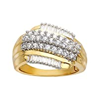 Finecraft Ring with Cubic Zirconia