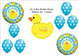 It's a Boy Rubber Ducky Duckie BABY Shower Balloons Decorations Supplies