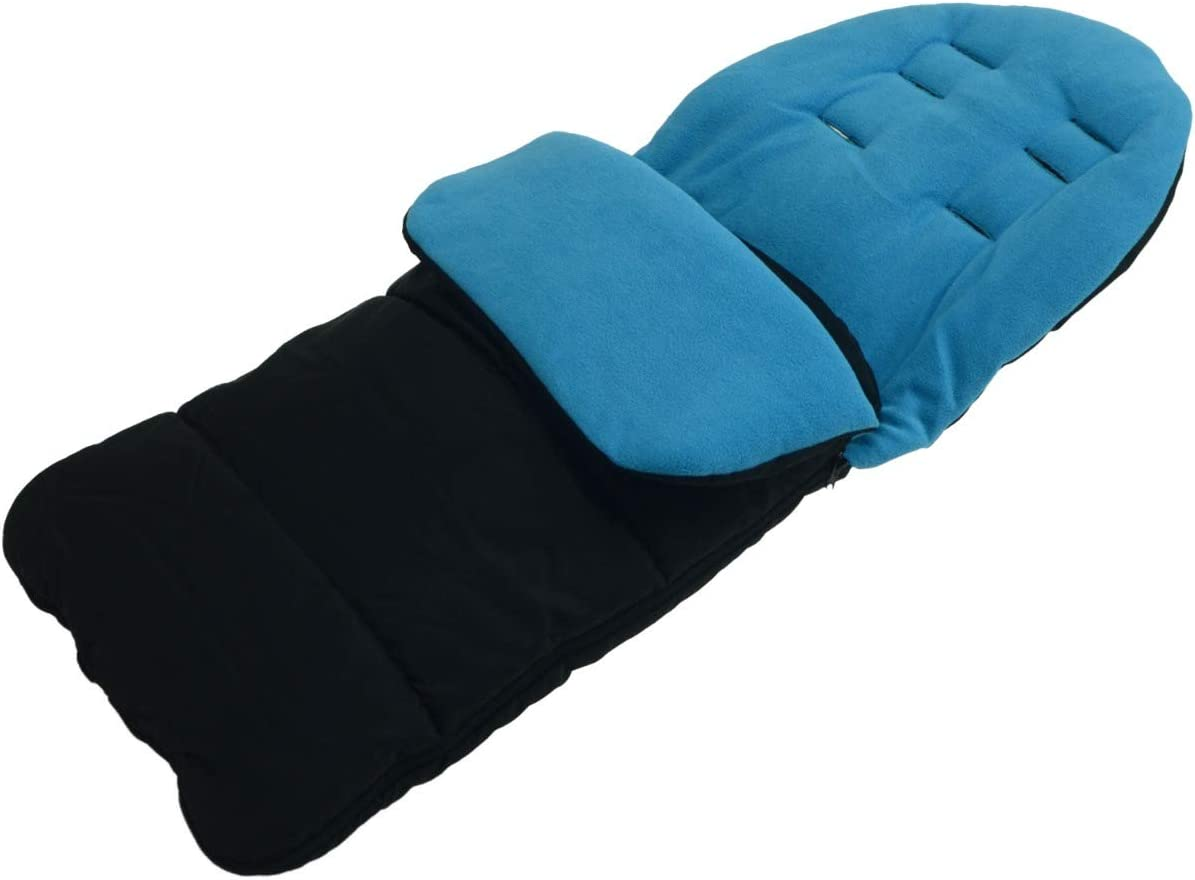 Ocean Blue FYLO Premium Footmuff//Cosy Toes Compatible with iCandy Apple 2 Pear