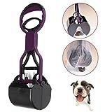 Portable Long Handle Dog Cat Pet Pooper Scooper Cleaner Pick Up Waste Tool