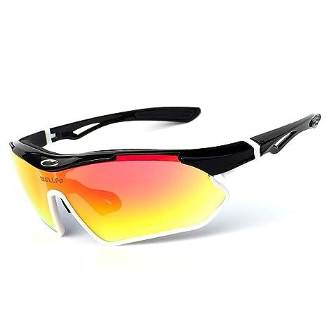 HLW Sports-sungl Gafas de Sol de Ciclismo al Aire Libre ...