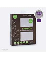 Bubba Blue Bamboo Waterproof Mattress Protector Bedding Cover Machine Washable Hygienic