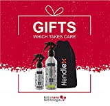New Christmas Gift Pack Waterproof Spray For Fabric and Leather Nano Coating Protector Hendlex | Special Made for Present with Bag