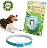 FOOMEXT Flea and Tick Collar for Cats and Dogs Natural Botanic Essential Oil