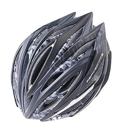 Qsjb 210g Ultra léger vélo de vélo de route vélo de montagne MTB vélo de sécurité casque de moto pour hommes et femmes adultes, de la jeunesse - de course, la protection de la