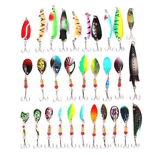 Anmuka-Lot-30pcs-Metal-Fishing-Lures-Minnow-Poper-Baits-Tackle-Crankbait-Assorted-Fish-Treble-Hooks