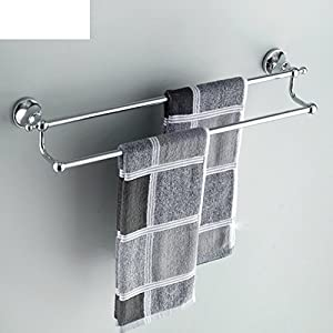 Bathroom Towel Bar/Towel double rod/Solid brass Towel rack/Bathroom towel/Bathroom hardware accessories-B cheap