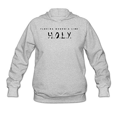 Hotboy19 Women's Long Sleeve Sweatshirt Duo Georgia Line HOLY Ash Size - Epic Duo Team