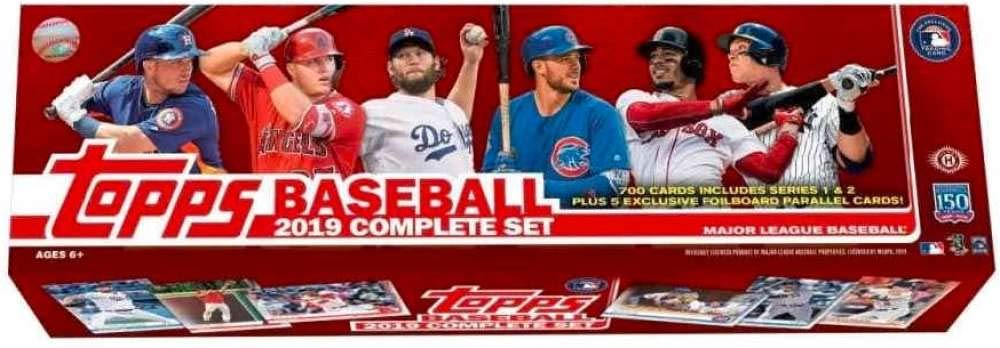 Bigwordscom 2019 Topps Baseball Cards Hobby Factory Set 700 Cardsset 5 Bonus Cards 0887521082278 Buy New And Used Trading Cardses Books And