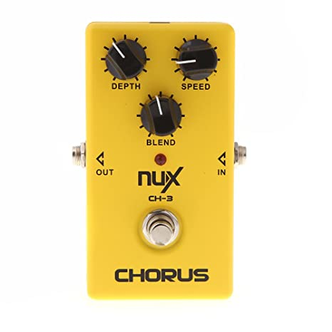 NUX CH-3 guitarra eléctrica efecto Pedal Chorus poco ruido BBD alta calidad True Bypass