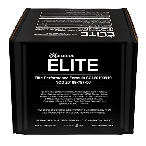 Excelerol Elite Brain Health Supplement 60 Capsules