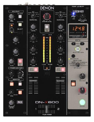 Denon DJ DN-X600 Professional 2-Channel Digital Mixer (Digital Dj Mixer)