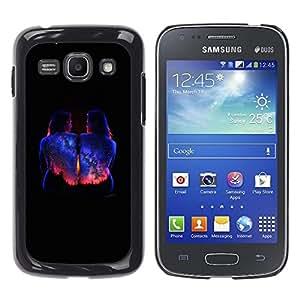 For Samsung Galaxy Ace 3 III / GT-S7270 / GT-S7275 / GT-S7272 , S-type® Bodypaint Black Universe Stars - Arte & diseño plástico duro Fundas Cover Cubre Hard Case Cover