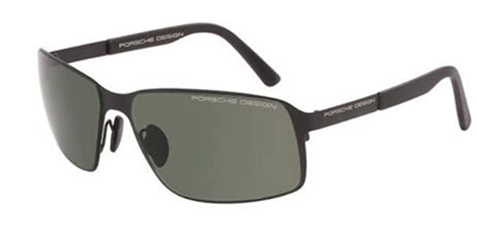 3c5edab67189 Image Unavailable. Image not available for. Colour  NEW Porsche Design P  8565 A Black Green Sunglasses