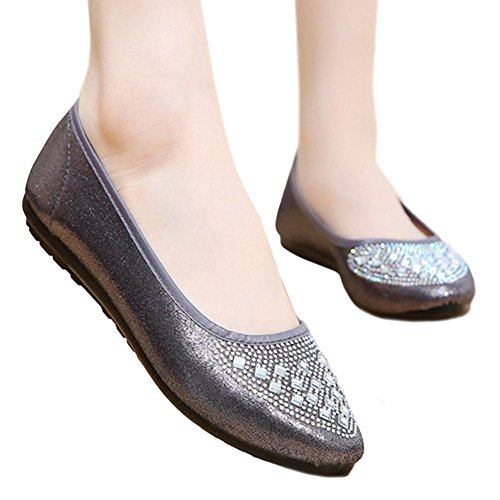 Low Cloth 35 cut Diamond grey Shoes Beijing Fake Suqare Old qYwOwC