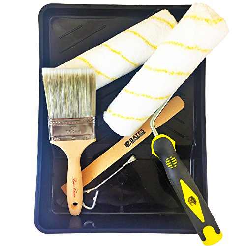 Paint Brush Paint Tray Roller Paint: Paint Roller, Paint Brush, Paint Tray, Roller
