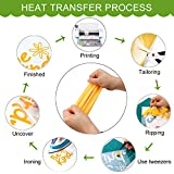 CAREGY Iron on Heat Transfer Vinyl Roll HTV