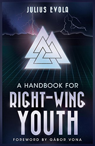 Book cover from A Handbook for Right-Wing Youth by Julius Evola