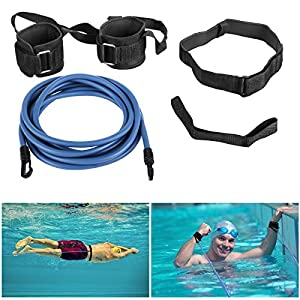 Cintura da Nuoto, Wokkol Cintura per il Nuoto, Elastico per il Nuoto, Cintura Nuoto, Corda da Allenamento per Elastico…