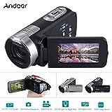 Andoer HDV-312P 20MP Full HD Digital Video Camera with 16× Digital Zoom (Black)