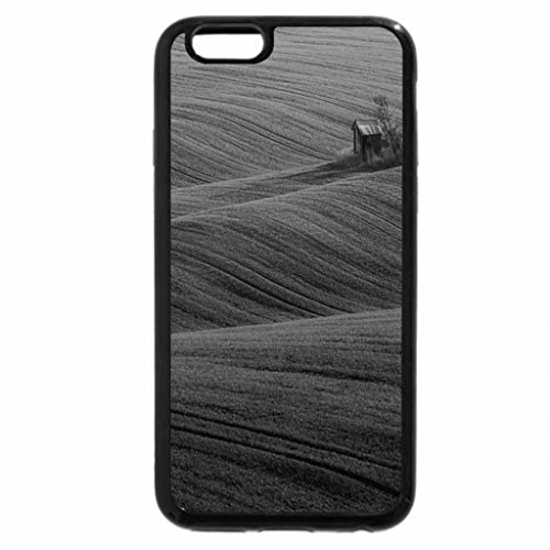 iPhone 6S Case, iPhone 6 Case (Black & White) - Green