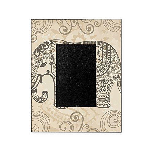 CafePress - Vintage Elephant - Decorative 8x10 Picture Frame (Elephant Frame)