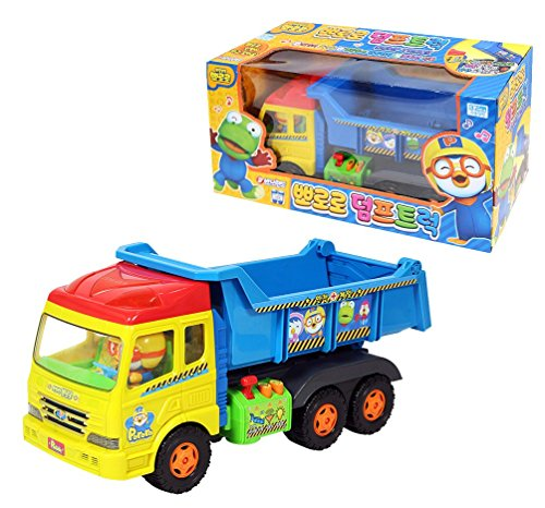Pororo Sound Melody Truck Korea TV Animation Children's Gifts Car - Sky Ride On Fire Truck