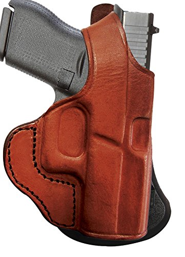 Tagua PD1-1202 Paddle Holster Thumb Break, Bersa 380, Brown, Right Hand