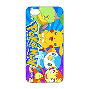Fortune 3D Case Cover Cartoon Pokemon Pikachu Phone Case For Iphone 5/5S Cover