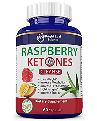 Raspberry Ketones Cleanse Health for Men & Women 19 Herbs and 1 probiotic