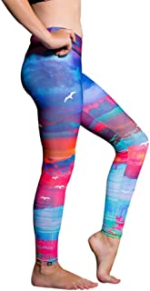 product image for Onzie Youth Graphic Leggings 829 White Sands