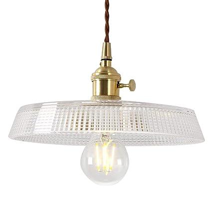 Amazon.com: IJ INJUICY - Lámpara de techo colgante de latón ...