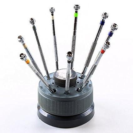 9 pcs/Set 0.5 mm-2.0 mm precisión reloj soporte para gafas, diseño ...