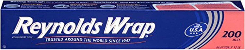 Reynolds Wrap Aluminum Foil (200 Square Foot Roll), 2 Count