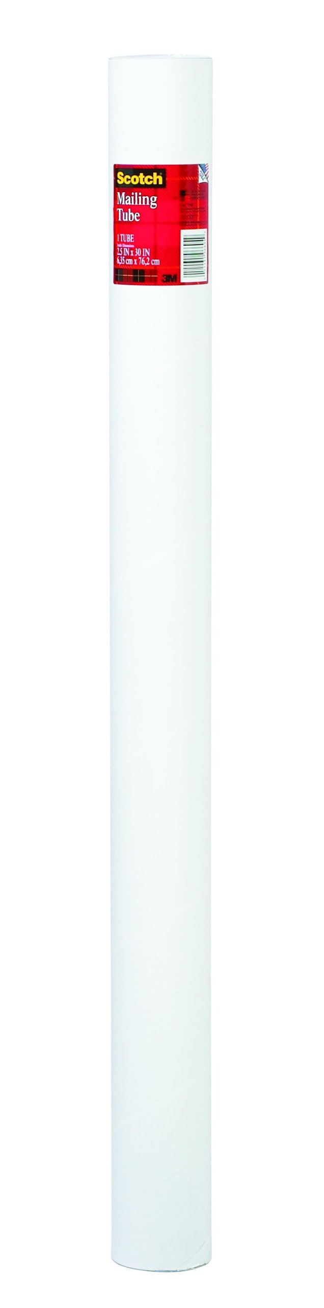 Scotch Mailing Tube, 2.5 x 30-Inches, Pack of 12