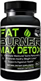 Weight Loss Pills - 30 Day Detox Cleanse, Burn Belly Fat Get Rid Of Toxins, Natural Formula Safe & Gentle Diet Pills That Work by Fat Burner Max