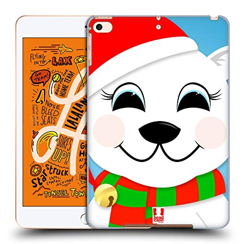Head Case Designs Polar Bear Jolly Christmas Characters Hard Back Case Compatible for iPad Mini (2019)