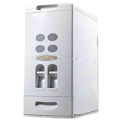 Dispensadores de cereales Barril de arroz dosificador Armarios domésticos incrustados en cajón tipo caja de almacenamiento