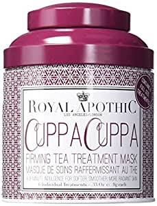 Royal Apothic Cuppa Cuppa Firming Tea Treatment Mask Tin, 6 Count
