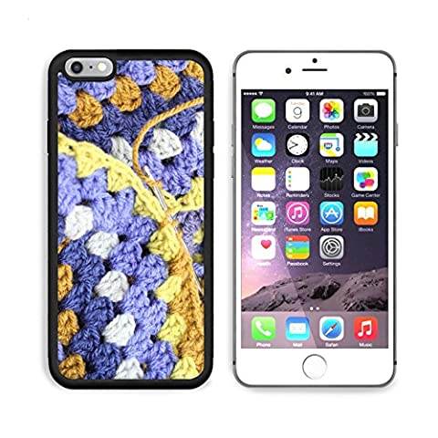 Liili Premium Apple iPhone 6 Plus iPhone 6S Plus Aluminum Backplate Bumper Snap Case iPhone6 Plus IMAGE ID 32461766 Crocheting crochet hook making an afghan blanket in shades of blues and browns a - Crochet Shell Afghan