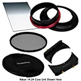 WonderPana FreeArc Essential CPL 0.6SE Kit - Core Filter Holder, Lens Cap, 66 Brackets, 0.6 Soft Edge Grad ND and 145mm CPL Filters for Nikon 14-24mm AF-S Zoom Nikkor f/2.8G ED AF Lens