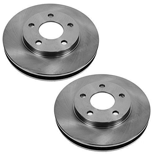 88 Brake Rotors - Front Brake Rotor Pair Set for Century Venture Intrigue Grand Prix 2WD